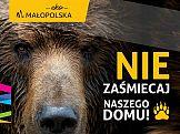 Zwierzęta ambasadorami małopolskiej kampanii antyśmieciowej