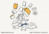 Zawód: Ilustrator | Higiena pracy – papierologia