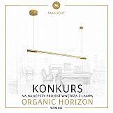 Konkurs na projekt wnętrza z lampami Organic Horizon