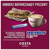 Mentos Pure Fresh z akcją samplingową w Costa Coffee
