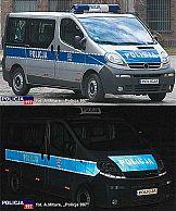 Zmiana barwy polskiej policji