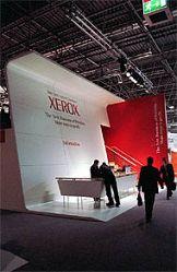 Xerox elektryzuje targi Drupa 2004