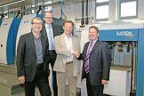 KBA podpisuje kontrakt na dostawę trzech maszyn KBA Rapida 106 z systemem SPC