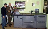 Bizhub Pro C6500 zainstalowany w drukarni Antena