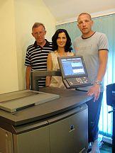 Człuchowska drukarnia Wybrzeże wdraża system Bizhub Pro C5501