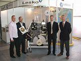 Złoty Medal Taropak 2006 dla przewijarki RLS 271 firmy Lesko Engineering