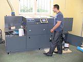 Pierwsze w Polsce urządzenie lakierujące Duplo Ultra-205A w drukarni Piktor