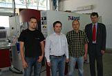 Premierowa polska instalacja maszyny KBA 74 Karat w drukarni Poppart