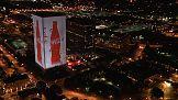Coca-Cola iluminuje w Atlancie