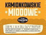 Konkurs na etykietę Piwa Kamionkowskiego rozstrzygnięty