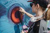 Murale Natalii Rak i Beaty Śliwińskiej Barrakuz w kampanii kolekcji Street Art