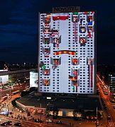 Największy w Polsce pokaz 3D mappingu  z Triasem