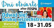 tytulDni otwarte after FESPA - odważ się, drukuj wszechstronnie - już od 18 maja!