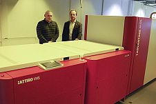 Agfa Advantage N-DL XXT & Attiro VHS w drukarni Agora Poligrafia w Tychach