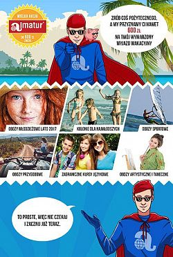Biuro Podróży Reklamy Promuje Wakacyjną Ofertę Almatur