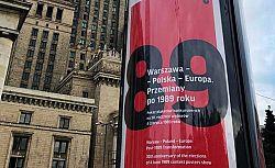 Warszawa Polska Europa Przemiany Po 1989 Roku Plakaty