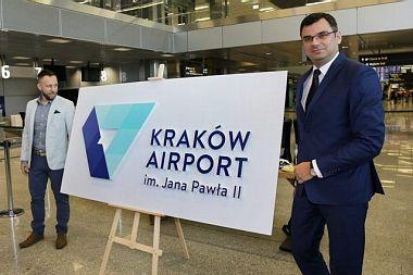 Nowe logo Kraków Airport