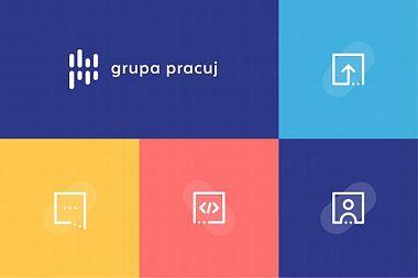 Nowe logo Grupy Pracuj (Studio Engram)