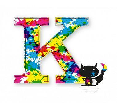 K - jak kolory w poligrafii