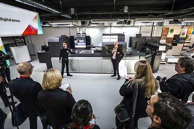 Nagrody branżowe dla cyfrowej maszyny inkjetowej Jet Press 750S firmy Fujifilm