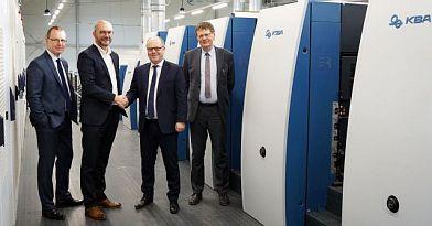Kent-pak inwestuje w wielkoformatową maszynę arkuszową Rapida 164-7+L ALV3