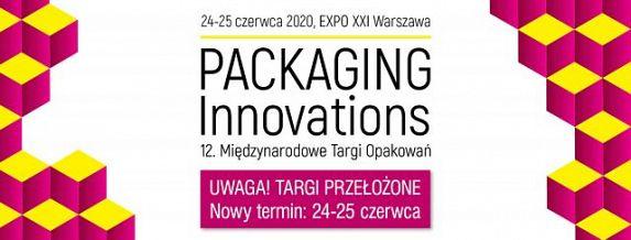 Targi Packaging Innovations przełożone na czerwiec
