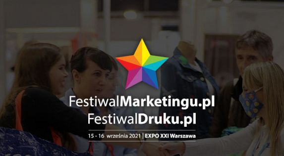 Ruszyła rejestracja na Festiwalmarketingu.pl & Festiwaldruku.pl