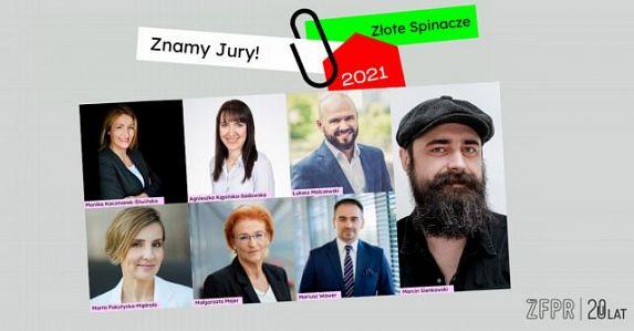Znamy Jury konkursu Złote Spinacze 2021