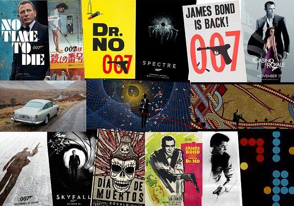 Konkurs na plakat z agentem 007