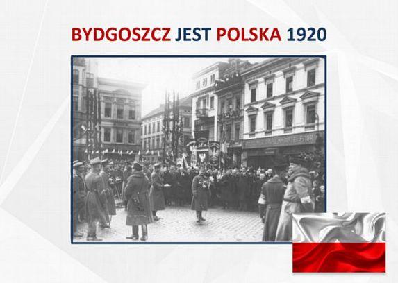 Bydgoszcz jest Polska - konkurs na okolicznościowe logo
